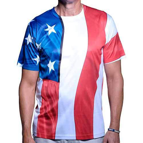 Patriotic American Flag T-Shirt - 4th of july shirts