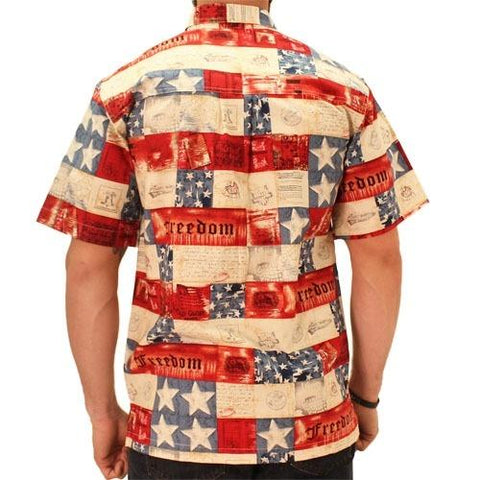 Patriotic Hawaiian Shirt - 4th of july shirts