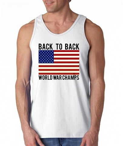 Back To Back World War Champs Tank - 4th of july shirts