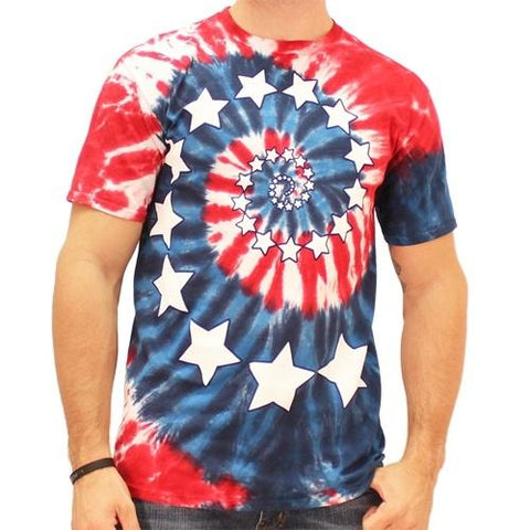 4th of July American Flag Mens T-Shirt - 4th of july shirts