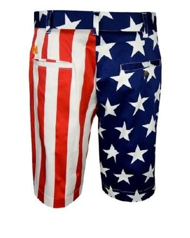 American Flag Golf Shorts - 4th of july shirts