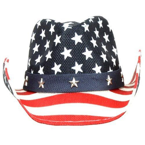 American Flag Cowboy Hat - 4th of july shirts