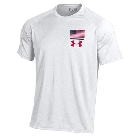 4th of July USA Flag Under Armour T-Shirt - 4th of july shirts