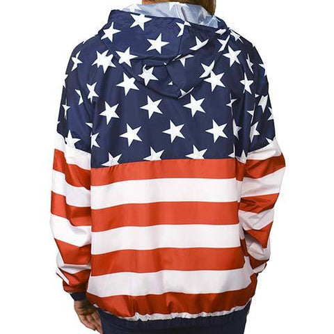 Women Full Zipper Patriotic Hoodie Jacket - 4th of july shirts