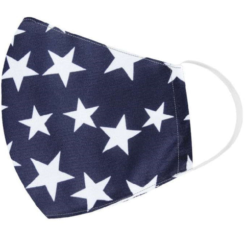 Stars Face Covering - 4th of july shirts
