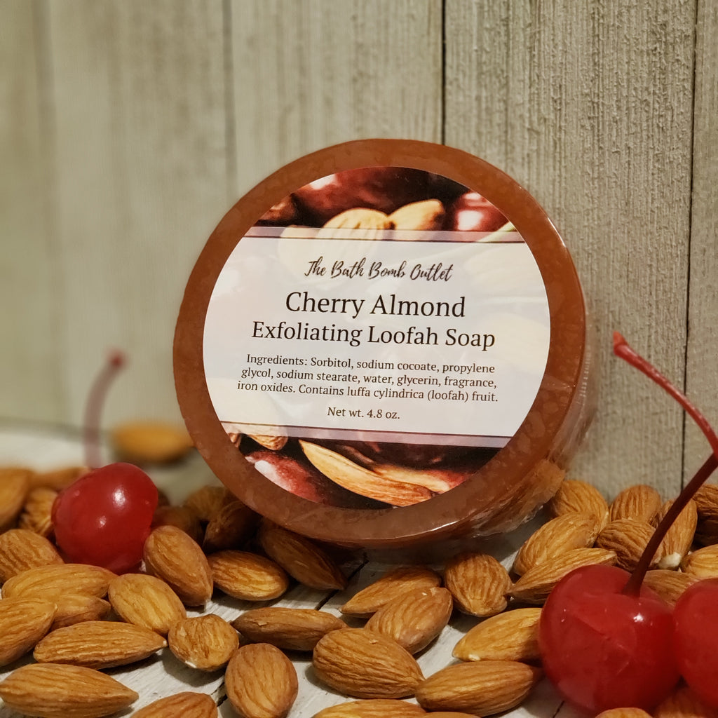 Cherry Almond Loofah Soap