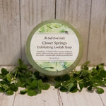 Clover Springs Loofah Soap