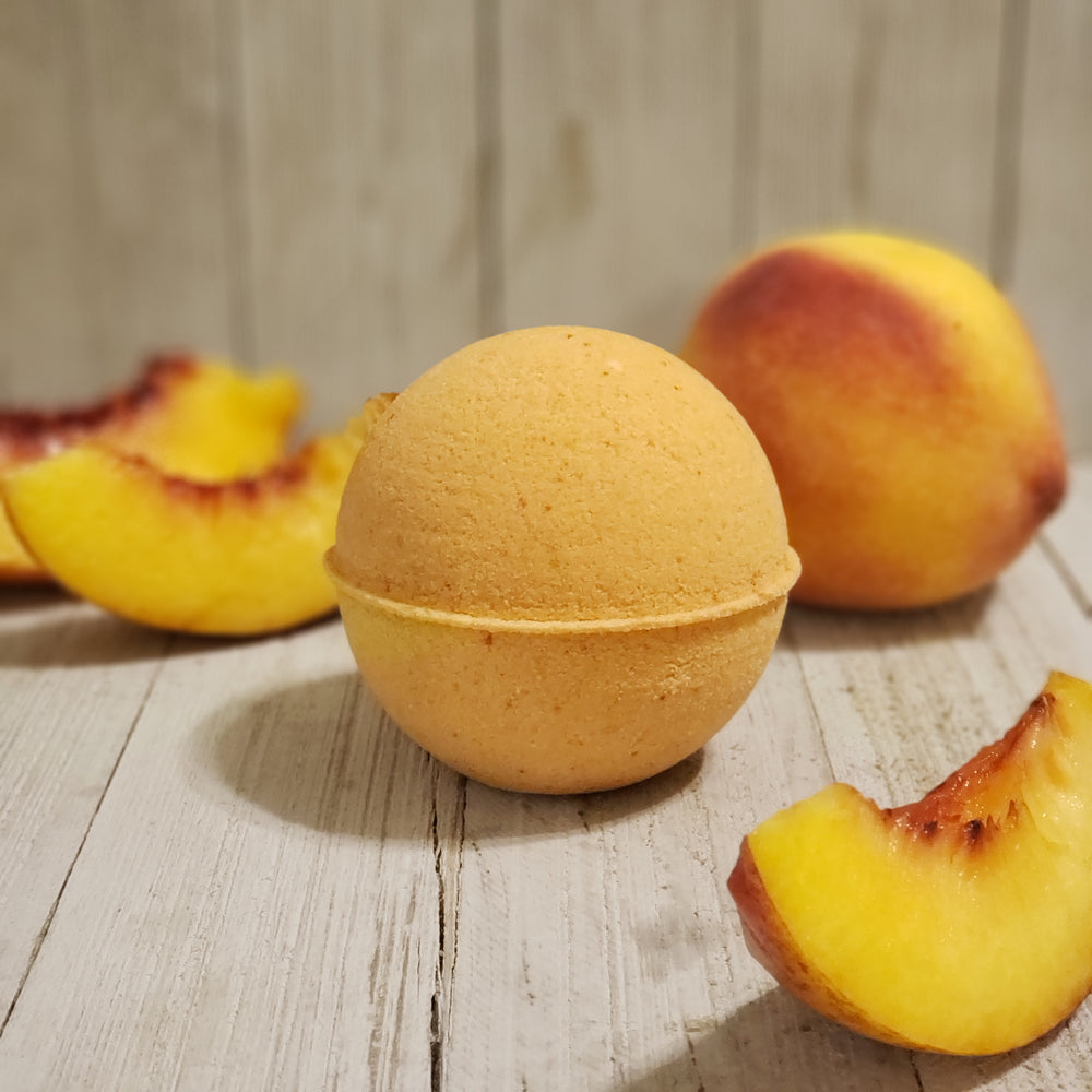 Georgia Peach Bath Bomb