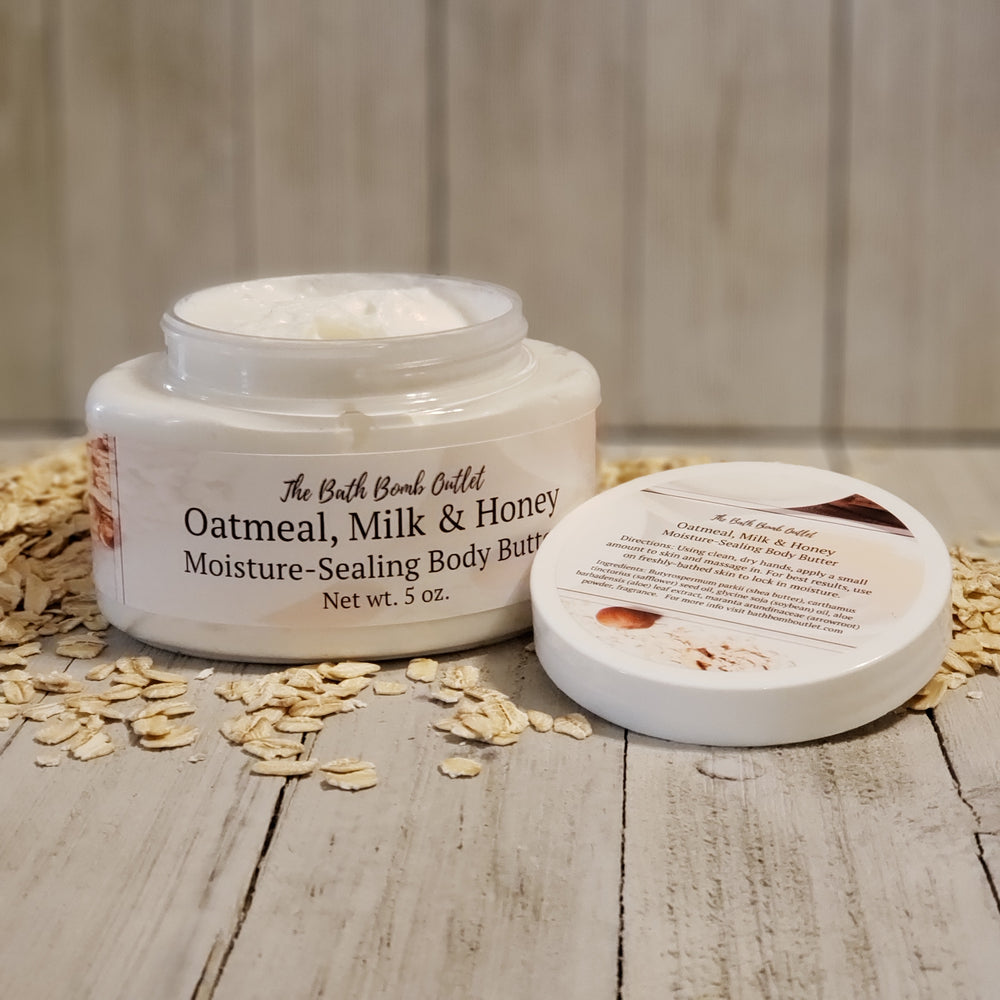 Oatmeal, Milk & Honey Body Butter