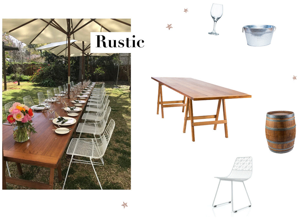 Range Event Hire Rustic Christmas Office Party Styling Ideas Toowoomba Brisbane Gold Coast Party Hire