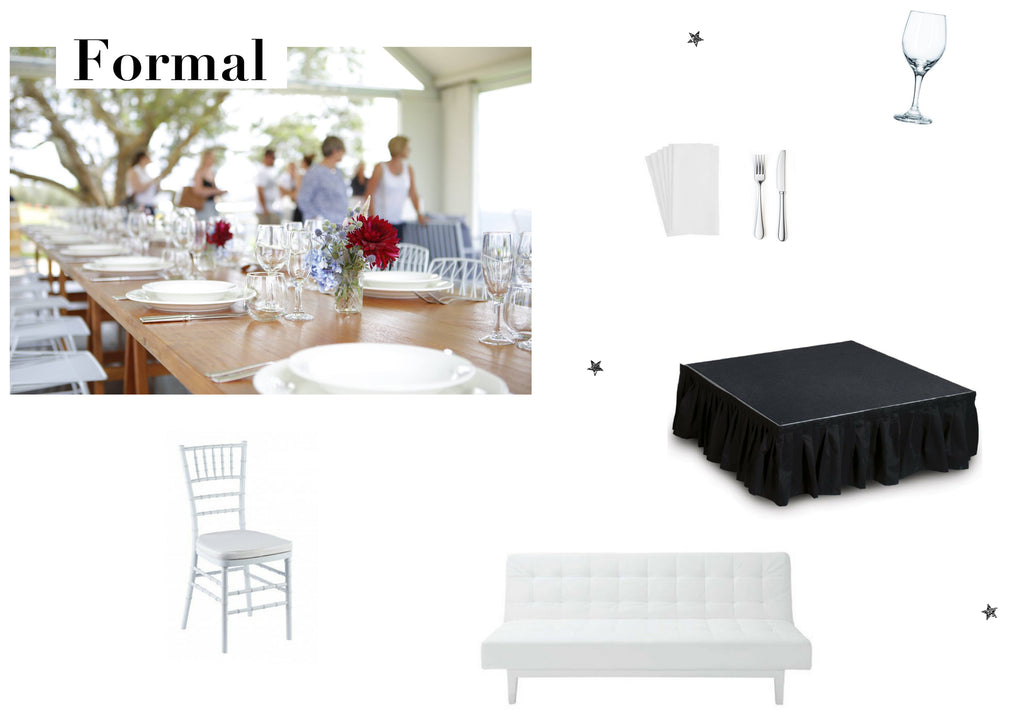 Range Event Hire Formal Office Party Styling Ideas Toowoomba Brisbane Gold Coast Party Hire