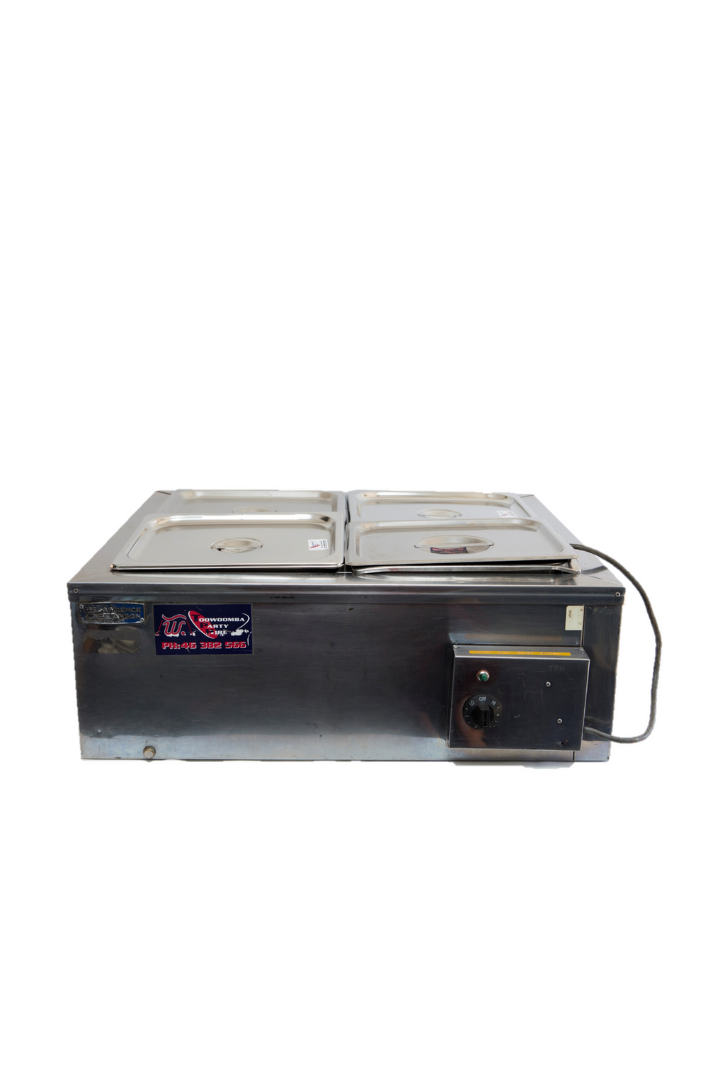 Bain Marie - 4 Pot Rectangle