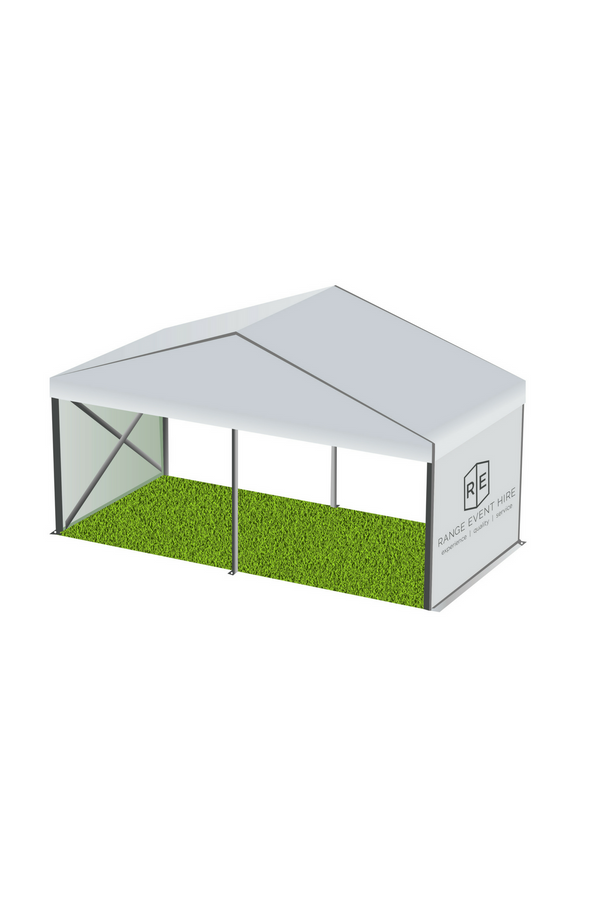 Marquee 6 metre WHITE