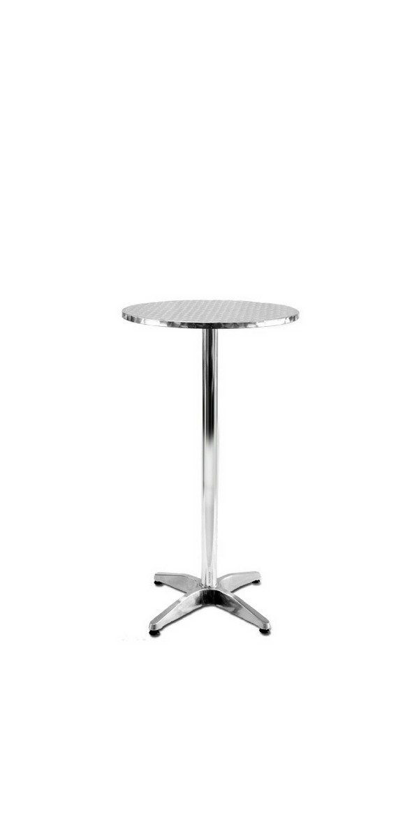 Dry Bar Table - Aluminium Top