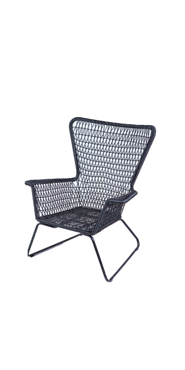 Chair - Ivy Palm Springs Sunchair Black