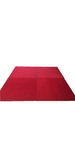 Flooring Carpet - Red Squares 1m x 1m
