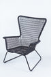 Palm Springs Chair - Black