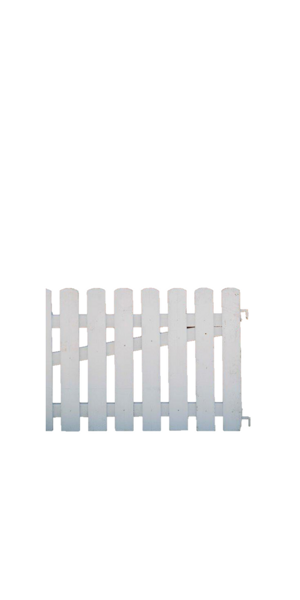 Fence - White Picket