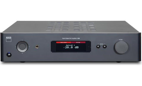 C 368 hybrid digital DAC amplifier