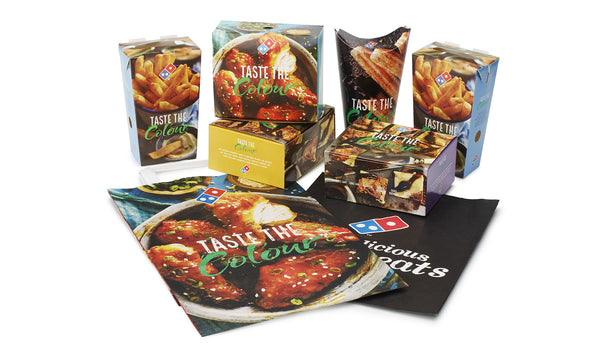 Zipform Packaging - Domino's Range