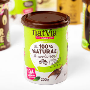 Natvia Rigid Composite Packaging