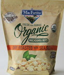 MacFarms Organic Dry Roasted Macadamia Nuts from Hawai'i with Sea Salt - 20oz Bag