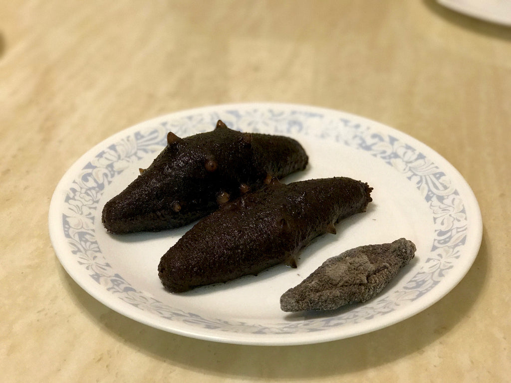 All Natural, Sun-Dried, Hand-Processed, Hand-Picked by Divers, California Sea Cucumbers