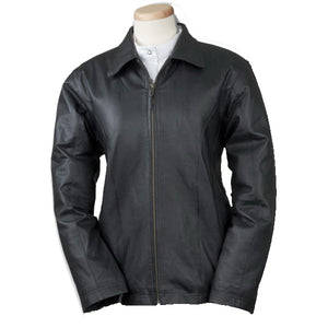 Bulletproof Women's Fitted Leather Jacket