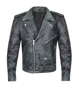 Bulletproof Distressed Leather Jacket