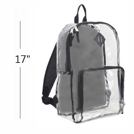 Bulletproof Clear Backpack