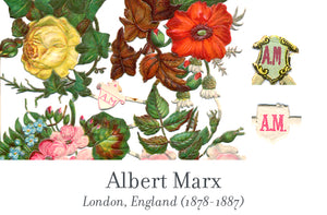 Albert Marx scrap reliefs publisher's mark