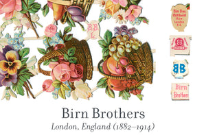 Birn Brothers scrap reliefs publisher's mark