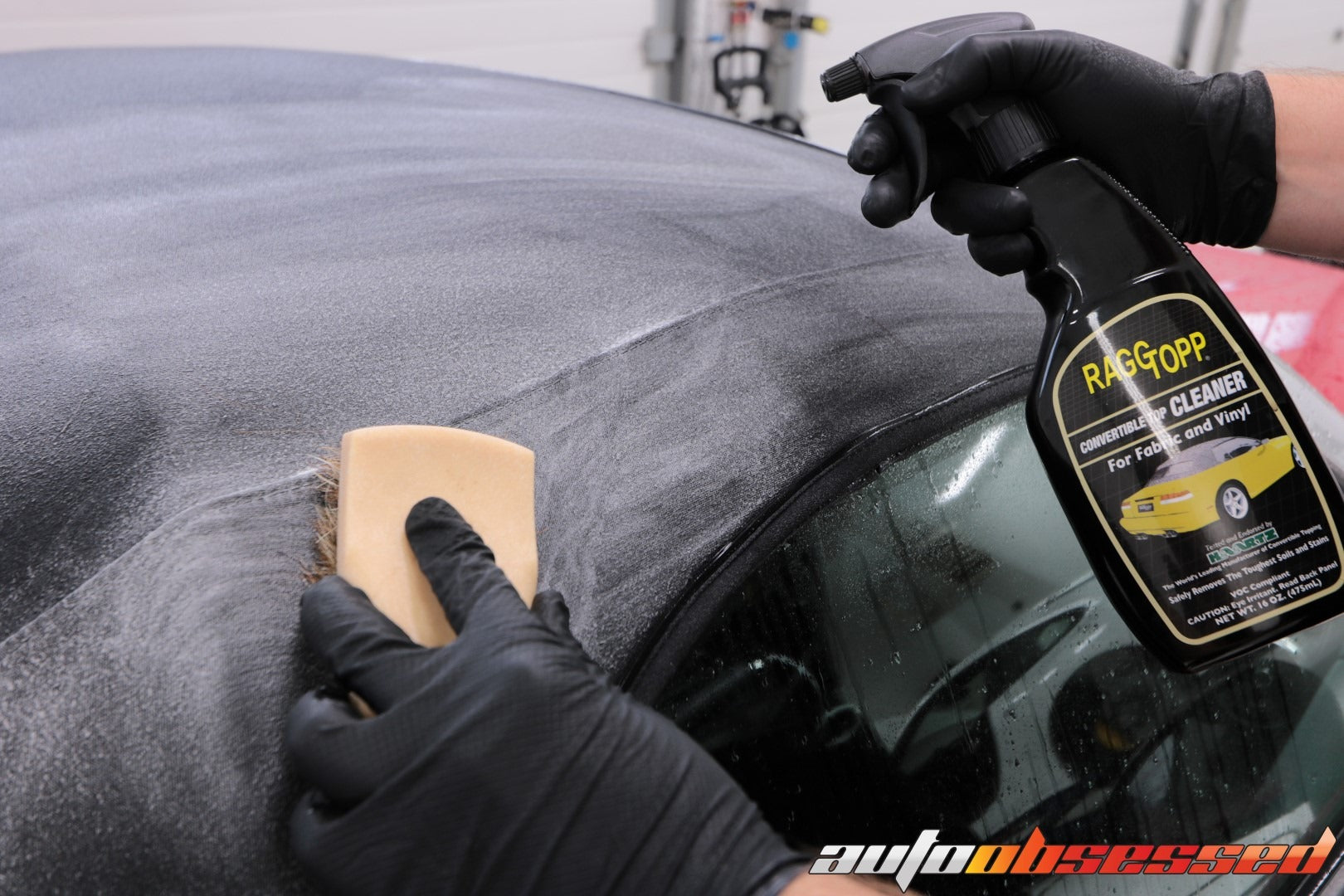 CONVERTIBLE TOP CLEANING CONVERTIBLE TOP PROTECTION - Auto Obsessed Car Detailing