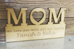 Wooden Mom Frame