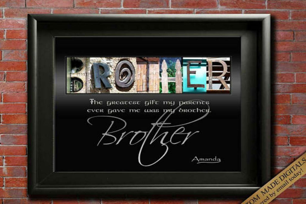 Alphabet Art- Brother