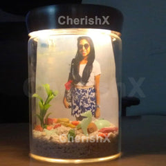 Personalized Light Jar