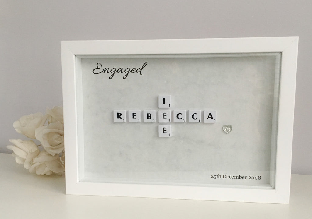 Scrabble Your Love - Frame