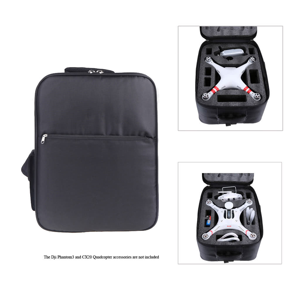 Universal Waterproof Outdoor Portable Quadcopter Shoulder Backpack Bag Carry Case for DJI Phantom 3 Quadcopter  CX-20 Quadcopter