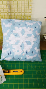 November 20 - Snowflake Cushion Cover Workshop (Adult)