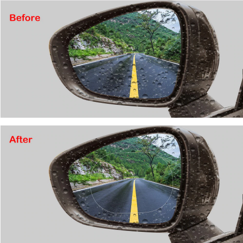 Safety Anti-Glare/Fog Film