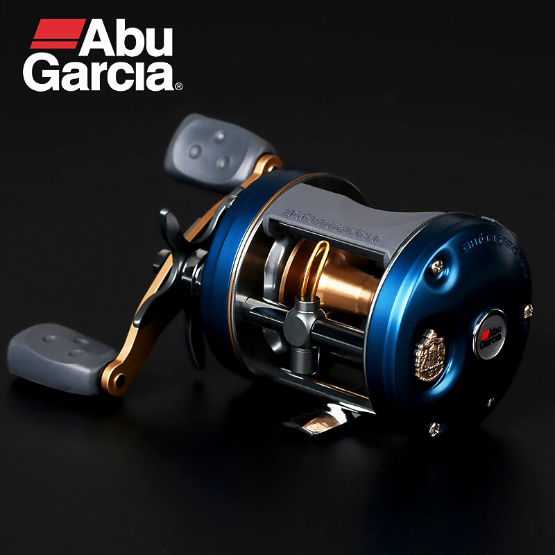 ABU GARCIA AMBASSADEUR C4 5BB Left/Right Hand Baitcasting Fishing Reel G-ratio 6.3:1 Drum Reel Fishing Tackle Carretilha Pesca
