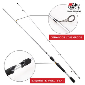 Abu Garcia VENGEANCE 1.98m VENGEANCE Spinning Rod  M/ML 2 Sections Fishing Rod Spinning Sea Rod Hard Carbon Pole Fishing Tackle