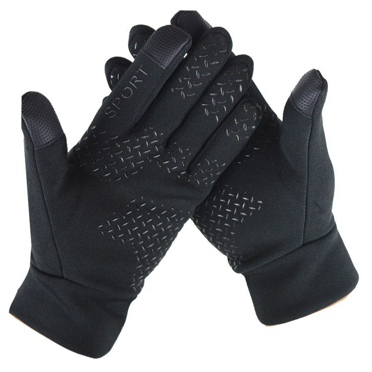 Men Touch Screen Gloves Waterproof Winter Warm Gloves Windproof Outdoor Thicken Warm Mittens Sports Cycling Hiking Eldiven