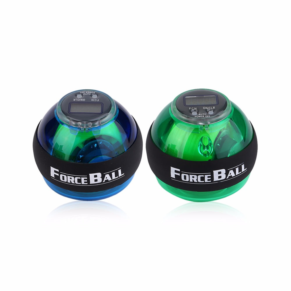 New Multifunctional LED Wrist Power Force Grip Ball Arm Muscle Exercise Speed Meter Counter Function 2 Colors drop shipping