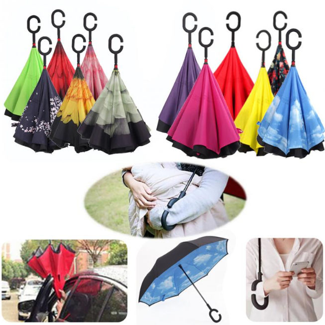 Magical Reversible Umbrella