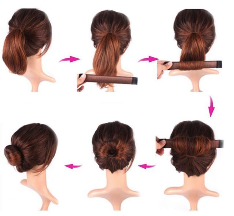 Instant French Twist Bun Maker