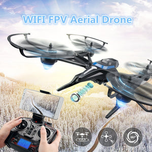 H50 2.4G 4CH 6-Axis WIFI FPV RC Drone with HD WiFi Camera Real-time Sharing RC Quadcopter with attitude hold toy VS x8g x5c