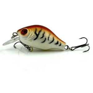 MUQGEW 2017 5pcs Bass Fishing Lures Crank Bait Crank bait Tackle Swim bait  wobbler fishing