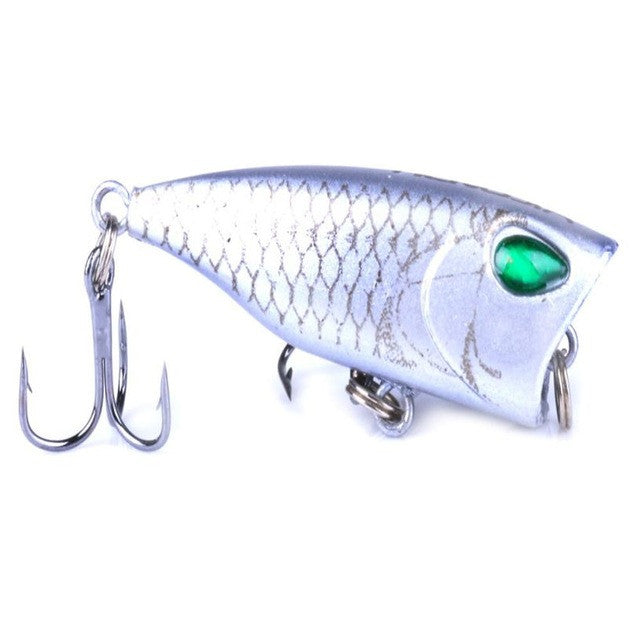 20171pcs Minnow Fishing Lures Bass Crankbait 10#Hooks Tackle Crank Baits 4cm/3.5g Fishing Accessories #EW