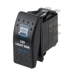 Bar ARB Carling Rocker Toggle Switch Zombie Light with Blue LED Light for Car Boat